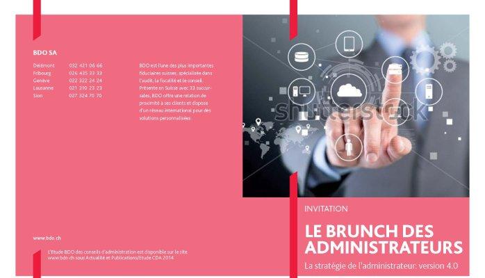 BDO, CSDA et ISADE: table ronde à Lausanne