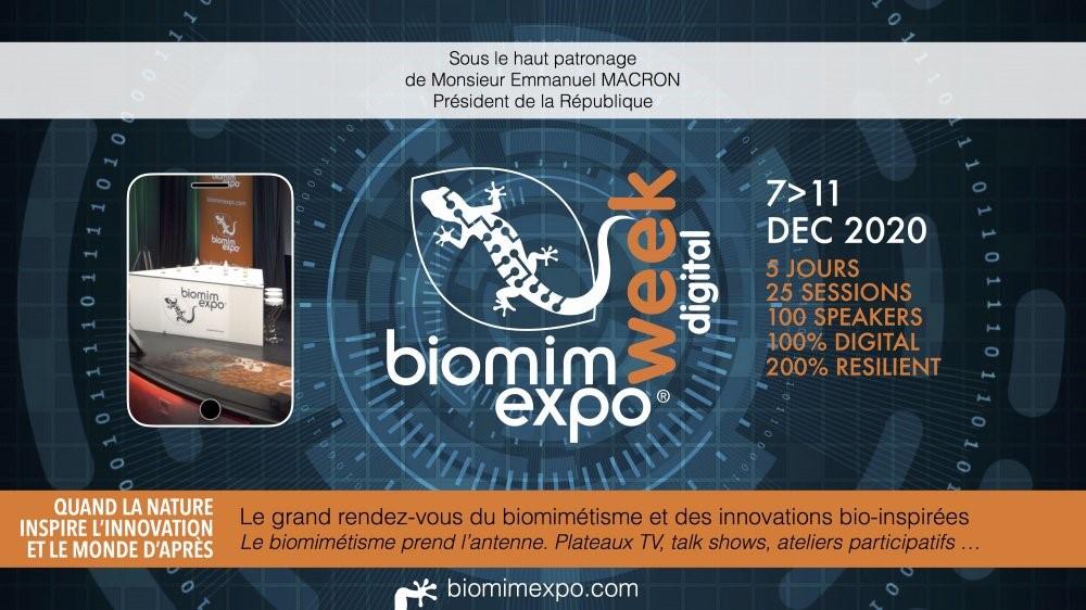 Biomim'Expo – du 7 au 11 décembre 2020 [FR][EN]