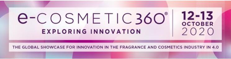 e-cosmetic 360, 12 et 13 octobre 2020 [FR][EN]